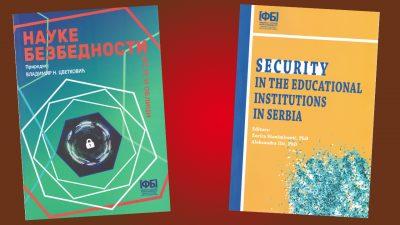 Нове књиге Факултета безбедности – октобар 2020.