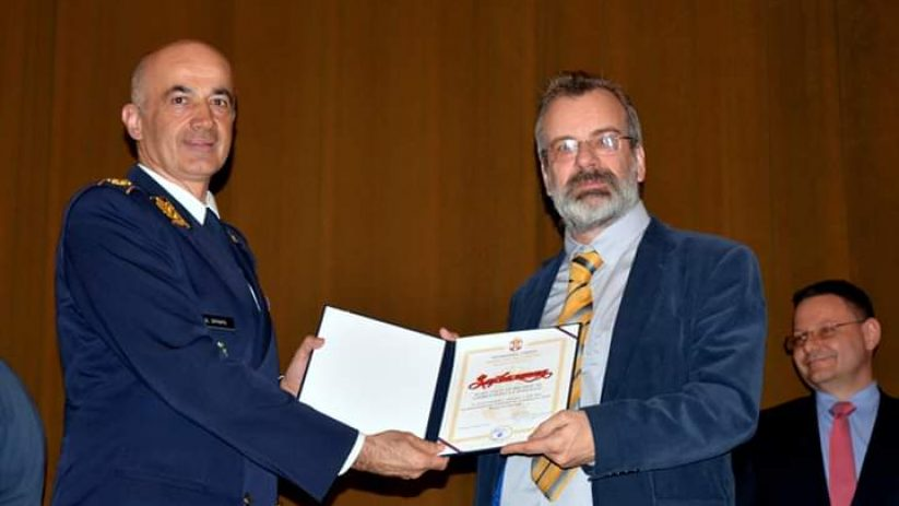 Захвалница Војне академије Факултету безбедности