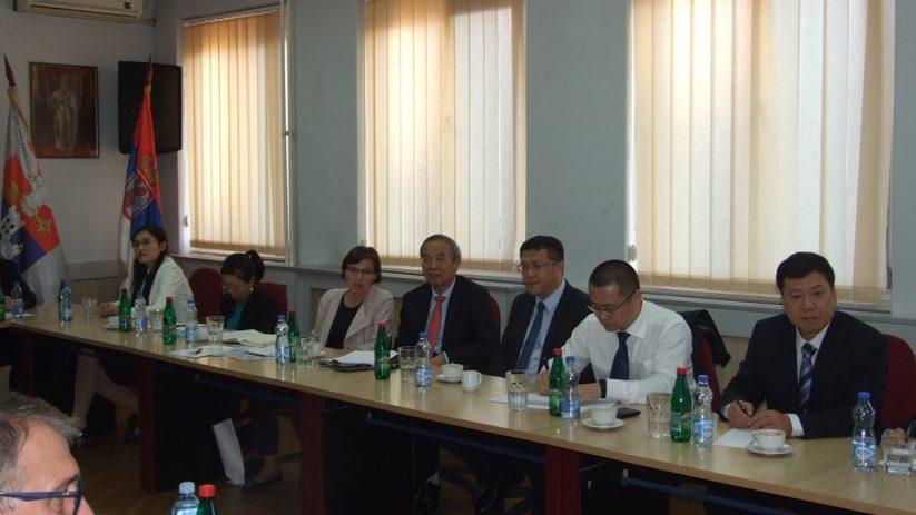 Посета високе делегације Кинеске асоцијације за међународно разумевање